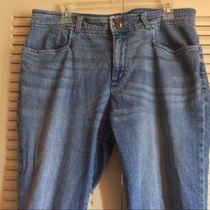 Chaps Ralph Lauren 16P Cotton Spandex denim capris